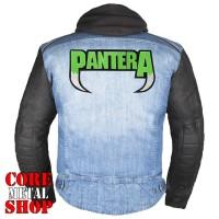 Нашивка термо Pantera (green logo)