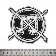 Нашивка Anti-music logo
