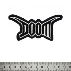 Нашивка Doom (logo)