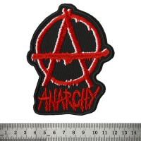 Нашивка Anarchy (черный фон)