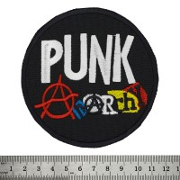 Нашивка Punk Anarchy