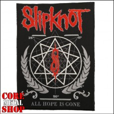 Нашивка Slipknot (на всю спину)