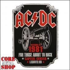 Нашивка AC DC (на всю спину)