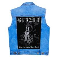 Нашивка наспинная Burzum (True Norwegian Black Metal)