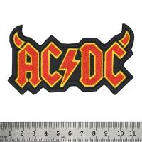 Нашивка AC/DC (Devil Horns)