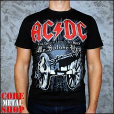 Футболка AC/DC We Salute You