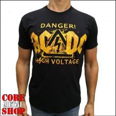 Футболка AC/DC - Danger High Voltage