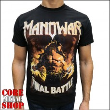 Футболка Manowar - Final Battle