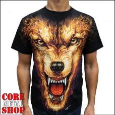 Футболка Огненный Волк