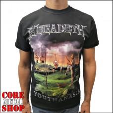 Футболка мужская Megadeth - Youthanasia