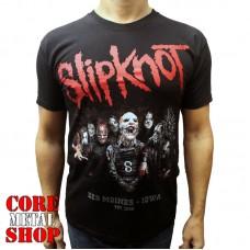 Футболка Slipknot - Des Moines Iowa