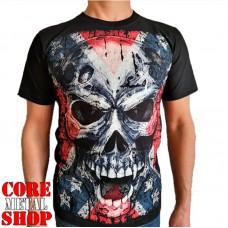 Футболка Full print Big Skull - Confederate Flag