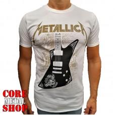 Футболка Metallica - Papa Het guitar (белая)