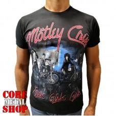 Футболка Motley Crue - Girls, Girls, Girls