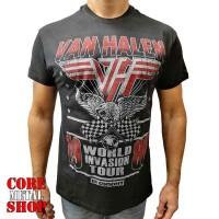 Футболка Van Halen - World Invasion Tour 1980