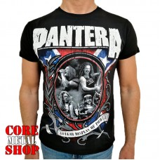 Футболка Pantera - Vulgar Display Of Power