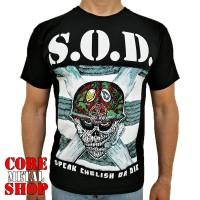 Футболка S.O.D. - Speak English or Die