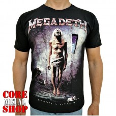 Футболка Megadeath - Countdown To Extinction