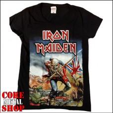 Женская Футболка Iron Maiden - The Trooper