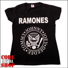 Футболка женская Ramones - Johnny Joe Deedee Tommy