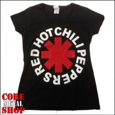 Женская футболка Red Hot Chili Peppers (черная)