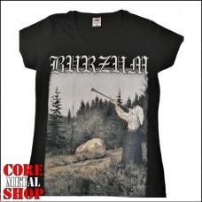 Женская футболка Burzum