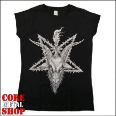 Женская футболка Baphomet 666
