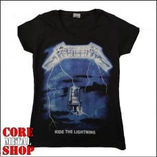 Женская футболка Metallica - Ride the Lightning