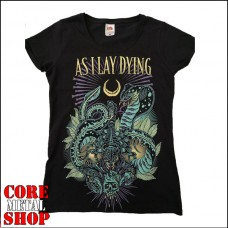 Женская футболка As I Lay Dying