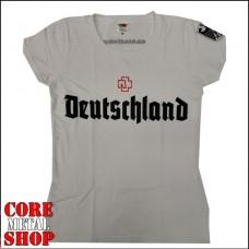 Женская футболка Rammstein - Deutschland