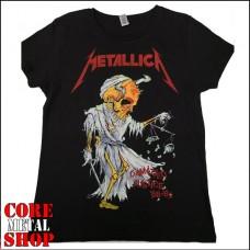 Футболка женская Metallica - Damaged Justice