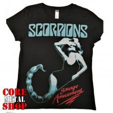 Футболка женская Scorpions - Savage Amusement
