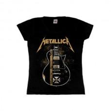 Женская футболка Metallica